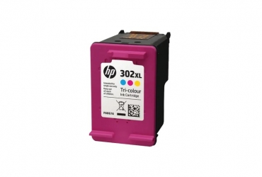 HP Μελάνι 302XL Colour F6U67A