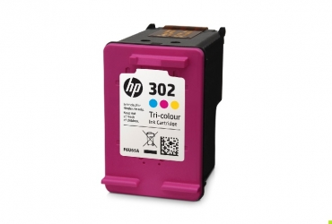 HP Μελάνι 302 Colour F6U65AE