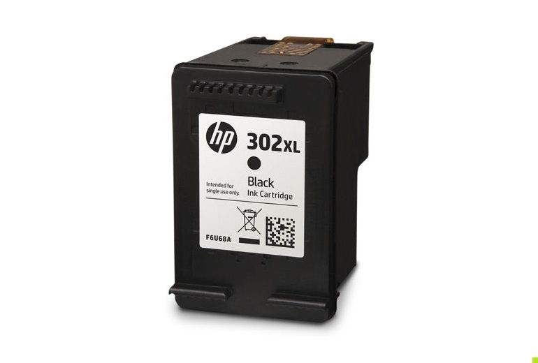 HP Μελάνι 302XL Black F6U68AE